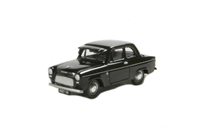 Ford Popular 100E De Luze 2-door saloon in black with sun visor