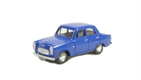 Ford Prefect 100E 4-door saloon in Dark blue