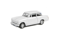 Triumph Herald 13/60 saloon in white with opening bonnet