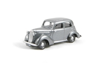 Vauxhall 1937-40 H type ten-four in metallic silver