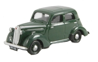 Vauxhall 1937 H-type Ten-Four in nightshade green.