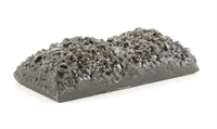 Wagon coal load (Hornby 4 plank) 56.5 x 26.5mm