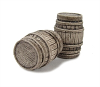 Large Oak Casks x 2