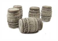 Large Oak Casks x 5