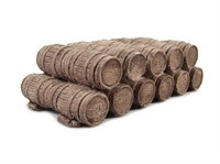 Double Row of Oak Casks
