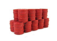 Stack of Oil Drums, red