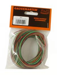 30m Wire (10m red/10m black/10m green)