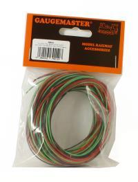 30m Wire (10m red/10m black/10m green)