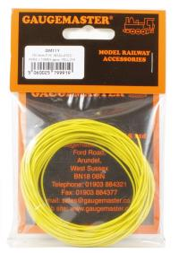 Wire Yellow 7 x 0.2mm 10 Metres
