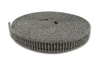 Flexible grey ballasted N gauge underlay with real granite stone