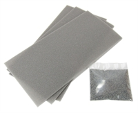Grey ballasted point/crossing underlay kit for GM200
