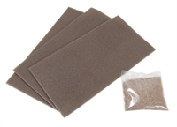 Brown point/crossing underlay kit