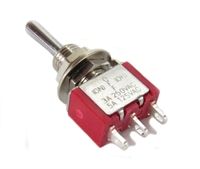 A5H Single Pole Double Throw Momentary Contact Mini-toggle for Point Motors