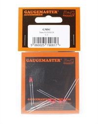 LED Red 3mm (Pack of 5)