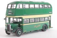 "Guy Arab III Park Royal d/deck bus ""Provincial Gosport & Fareham Omnibus Co"" - Pre-owned - Like new"