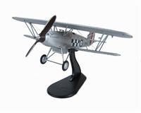 """Hawker Fury I Sqn Leader R H  Hamner,  43 Sqn RAF 1932 """"K1930"""""""