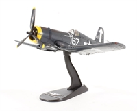 F4U-1D Corsair flown by Lt.Cdr. Roger Hedrick VF-84, Bunker Hill, February 1945