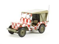 """US Willys MB Jeep, USAF, Iowa """"Follow Me"""""""