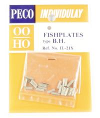 Fishplates, for bullhead rail, nickel silver