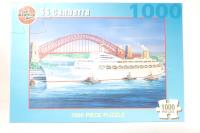 1000 Piece Puzzle 'SS Canberra' 75x50cm - Pre-owned - Like new