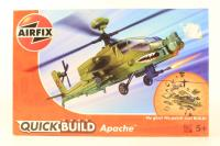Apache Helicopter 'Quick Build' - New Tool for 2013 - Pre-owned - imperfect box