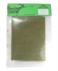 "Rough terrain mat - Autumn Green - 15""  x 6"""