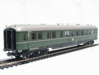Salon dining coach of the German DB in green livery Epoch 3