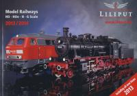 Liliput 2013 Catalogue (H0, H0e, N & G) (in English)