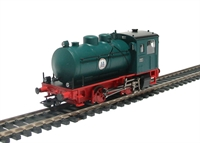 Class B-fl12/2,5, Fireless 0-4-0 Steam Loco of The German Zuckerfabrik Elsdorf In Green & Red Livery Eras 4/5