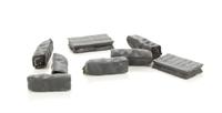 Coal sacks - full & empty