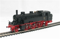 Class BR75 2-6-2 Tank loco of the German DRG in black & red livery Epoch 2