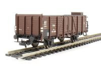 Open Goods Wagon with Braeman's Cab Om 753 680 OBB Epoch 3