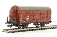 Covered Goods Wagon with Brakeman's Cab, DR Era 3