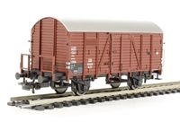 Covered Goods Wagon with Brake platform, DB Era 3
