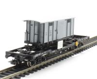 Flat Wagon with Goods Wagon Load 'G166 StLB' ÖBB Ep.V