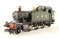 Class 45xx Prairie tank 2-6-2 4589 in GWR green - Pre-owned - Handrails and other metal parts slightly oxidized - Few small spots of paint on the top of the tank - Replacement Box