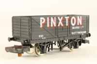 12T 7-Plank Open Wagon - Pinxton Collieries - Pre-owned - one coupling rusted - imperfect box