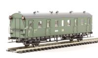 Coach 2-Axle 2nd Class B.541-260, DR. Era 3