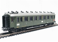 Type ABC4ü mixed class coach of the German DRG in green livery Epoch 2