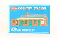 Country Station Building Brick Type - Pre-owned - Like new
