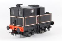 Sentinel 4w 'Isebrook' in lined black - Special Edition for Model Rail - Pre-owned - DCC fitted - Detailed, missing coupling hook