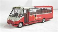 "MCW Metrorider midibus. (London)  Final livery ""WestLink Buses"""