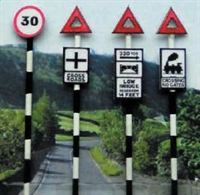 Pre 1960's Road Signs set 1