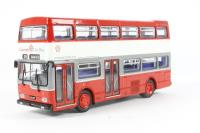 """Scania Metropolitan d/deck bus """"Leicester City - Route 153"""" - Pre-owned - worn outer box"""