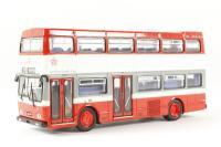"Scania Metropolitan d/deck bus ""Leicester City - Route 153"" - Pre-owned - poor box"