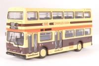 """Scania Metropolitan d/deck bus """"Charles Cook"""" - Pre-owned - paint chips on roof - imperfect box"""