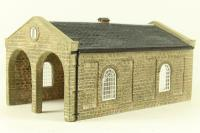 "Double road engine shed - Lyddle End ""Station Life"" Range - Pre-owned - Like new"