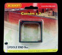 """Corner walls x 2 - Lyddle End """"Gasworks"""" Range"""