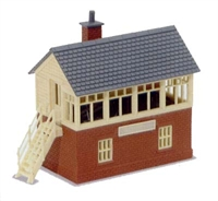 Signal Box Kit wood and brick type