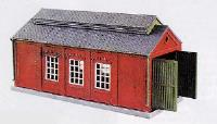 Engine Shed, Brick Built Type Kit
